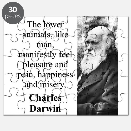 The Lower Animals - Charles Darwin Puzzle