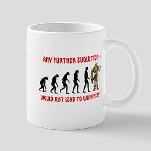Barbarian Evolution Mug