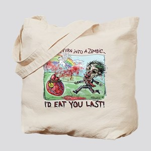 Be Mine Zombie Boy Tote Bag