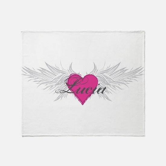 My Sweet Angel Lucia Throw Blanket