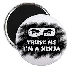 Trust Me I'm a Ninja (male) Magnet