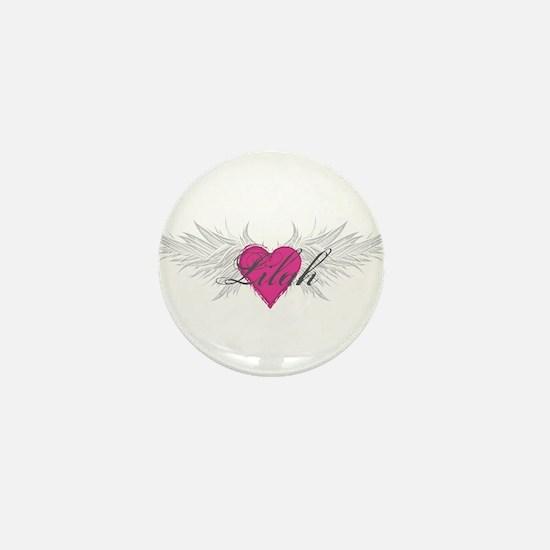 My Sweet Angel Lilah Mini Button