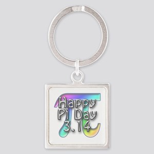Pi Day - 3.14 Square Keychain