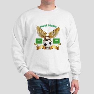 Saudi Arabia Football Design Sweatshirt