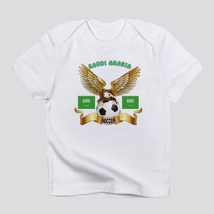 Saudi Arabia Football Design Infant T-Shirt