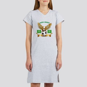 Saudi Arabia Football Design Women's Nightshirt