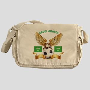 Saudi Arabia Football Design Messenger Bag