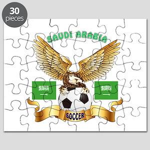 Saudi Arabia Football Design Puzzle