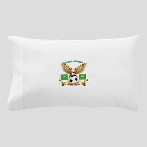 Saudi Arabia Football Design Pillow Case