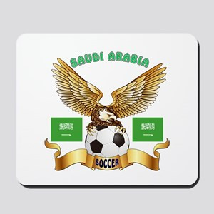 Saudi Arabia Football Design Mousepad