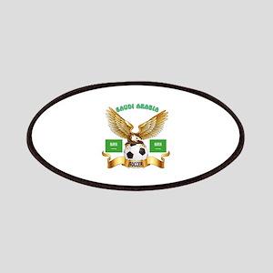 Saudi Arabia Football Design Patches