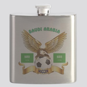 Saudi Arabia Football Design Flask