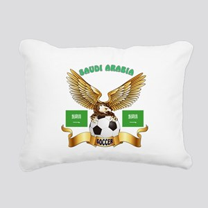 Saudi Arabia Football Design Rectangular Canvas Pi