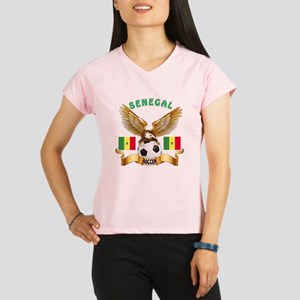 Senegal Football Design Performance Dry T-Shirt