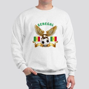 Senegal Football Design Sweatshirt