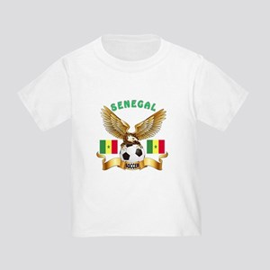 Senegal Football Design Toddler T-Shirt