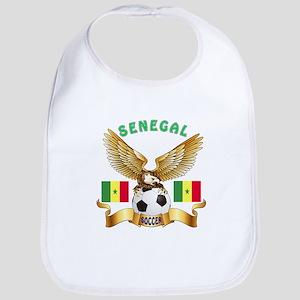 Senegal Football Design Bib