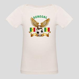 Senegal Football Design Organic Baby T-Shirt