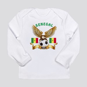 Senegal Football Design Long Sleeve Infant T-Shirt