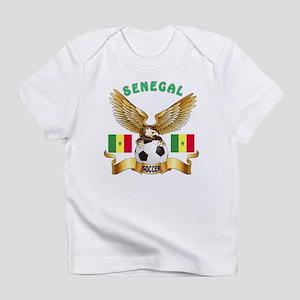 Senegal Football Design Infant T-Shirt