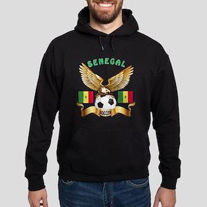 Senegal Football Design Hoodie (dark)