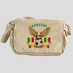 Senegal Football Design Messenger Bag
