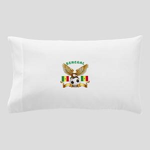Senegal Football Design Pillow Case