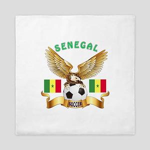 Senegal Football Design Queen Duvet