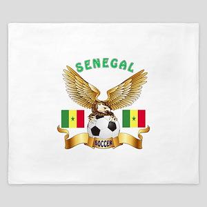 Senegal Football Design King Duvet