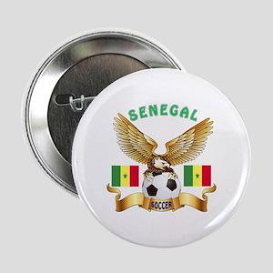 """Senegal Football Design 2.25"""" Button"""