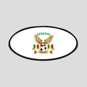 Senegal Football Design Patches