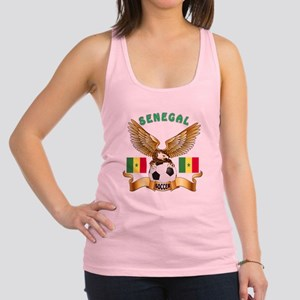 Senegal Football Design Racerback Tank Top
