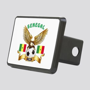 Senegal Football Design Rectangular Hitch Cover