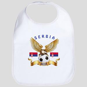 Serbia Football Design Bib
