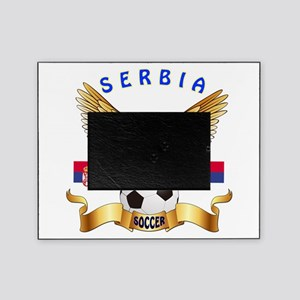 Serbia Football Design Picture Frame