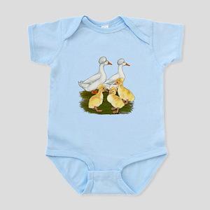 Crested Duck Family Infant Bodysuit