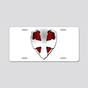 St George Shield Aluminum License Plate