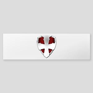 St George Shield Sticker (Bumper)