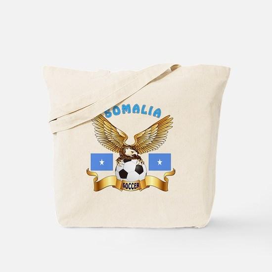 Somalia Football Design Tote Bag