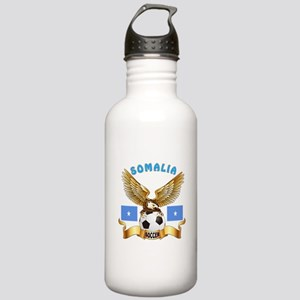 Somalia Football Design Stainless Water Bottle 1.0