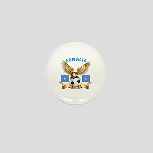 Somalia Football Design Mini Button
