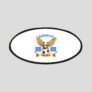 Somalia Football Design Patches