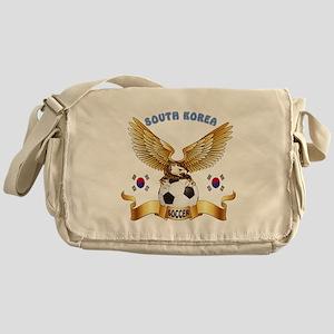 South Korea Football Design Messenger Bag