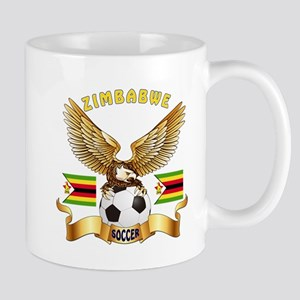 Zimbabwe Football Design Mug