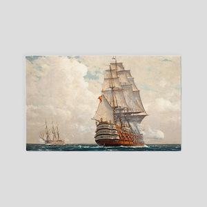 Ship at Sea 3'x5' Area Rug
