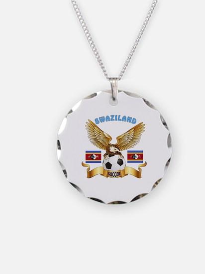 Swaziland Football Design Necklace