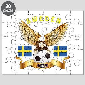 Sweden Football Design Puzzle