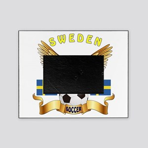 Sweden Football Design Picture Frame