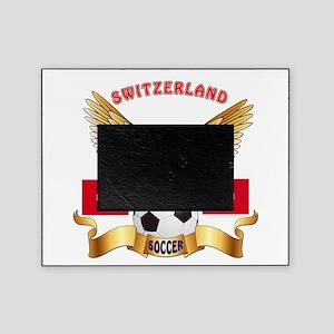 Switzerland Football Design Picture Frame