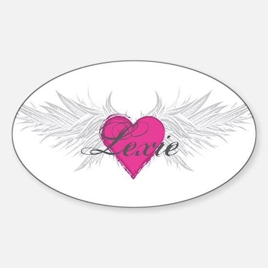 My Sweet Angel Lexie Sticker (Oval)